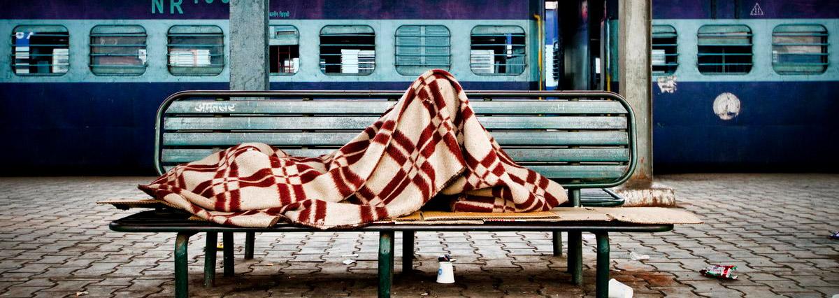 Sleeping Train Station